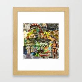 Unique Silos Framed Art Print
