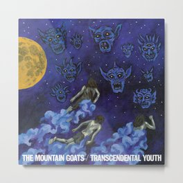 The Mountain Goats - Transcendental Youth Metal Print