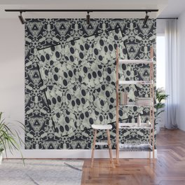 Black and White Fusions Wall Mural