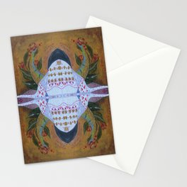 Bug with horns Stationery Cards