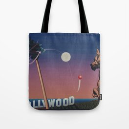 Boss goes to Hollywood computer generated image Tote Bag