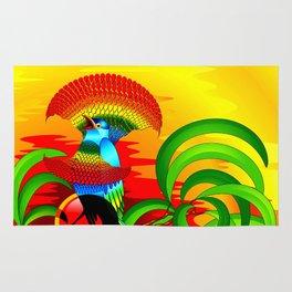 Paradise Bird Rug
