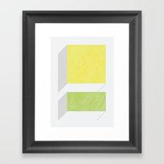 四角_視覚【SHIKAKU】 Framed Art Print