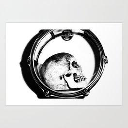 Head Bang Art Print