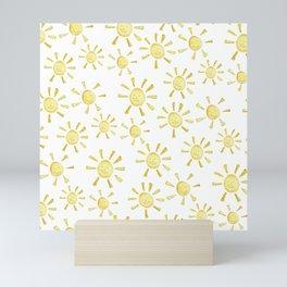 Happy Sunshine Print Mini Art Print