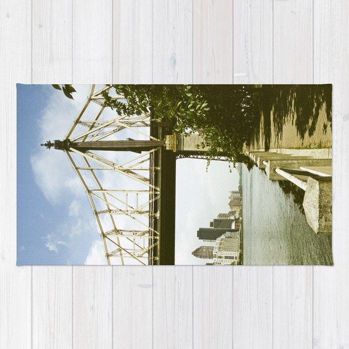 Queensboro Bridge New York City Rug