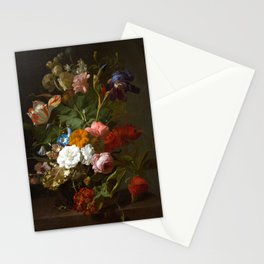 Vase with Flowers - Rachel Ruysch Stationery Cards