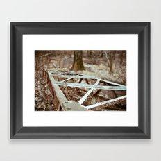 Repurposed Framed Art Print