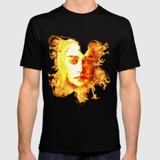 Bride of Fire v2 t shirt Mens Fitted Tee MEDIUM Black