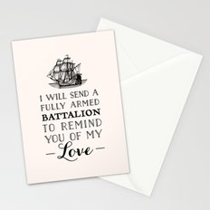 A Fully Armed Battalion Stationery Cards