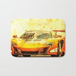 2015 McLaren 650S GT3 Race Car Bath Mat
