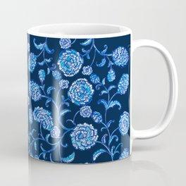 Blue & White Florals by Fanitsa Petrou Coffee Mug