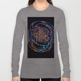 """""""""""I should be a pair of ragged claws / Scuttling across the floors of silent seas."""" Long Sleeve T-shirt"""