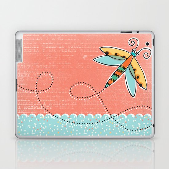 Summer Buzzin' Laptop & iPad Skin