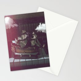 Musical Ship Stationery Cards