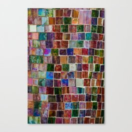 Glass tiles Canvas Print