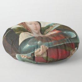 Salome with the Head of John the Baptist, Jacob Cornelisz van Oostsanen, 1524 Floor Pillow