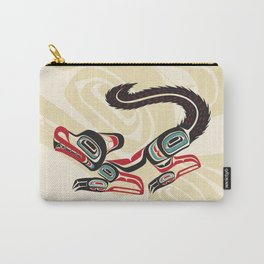 Salish Fox Carry-All Pouch