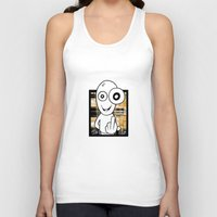 walter white Tank Tops featuring Walter by ouchgrafix urban art