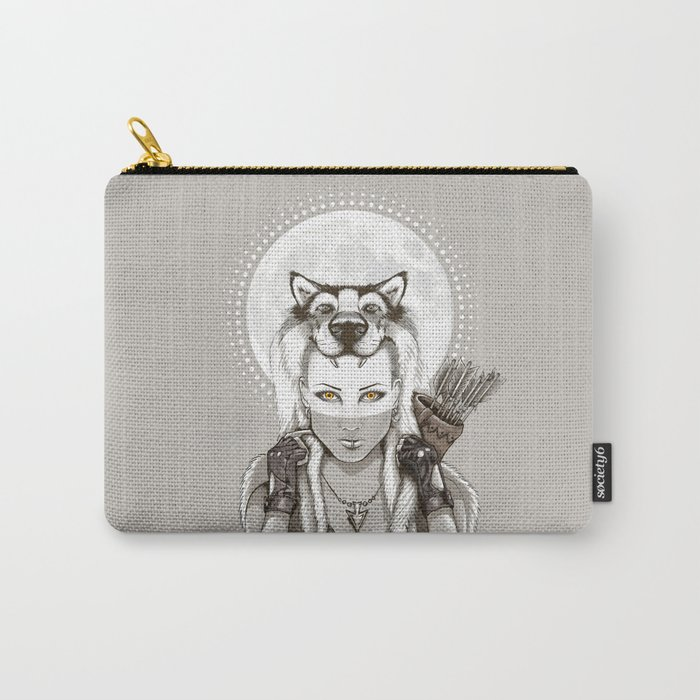 Fear Makes the Wolf... Carry-All Pouch