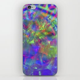 Crystal Face iPhone Skin