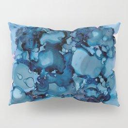 Indigo Abstract Painting | No. 8 Pillow Sham
