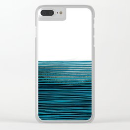 Dream Lines Clear iPhone Case