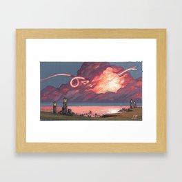Cloud Dancer Framed Art Print