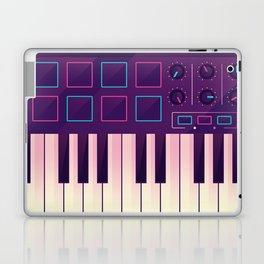 Neon MIDI Controller Laptop & iPad Skin