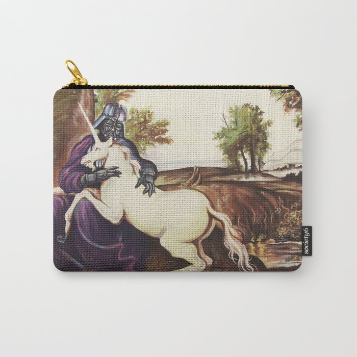 The Darkside of the Unicorn Carry-All Pouch
