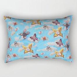 Cat Fairies print Rectangular Pillow