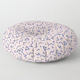 Memphis Pattern 12 - 80s Retro Floor Pillow
