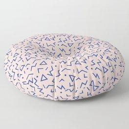 Memphis Pattern 12 - 80s Retro Floor Pillow