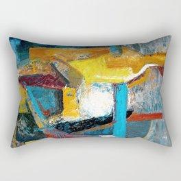 The Awkward Seagull Rectangular Pillow