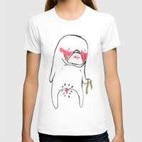 manatee T-shirts featuring measure manatee by withapencilinhand