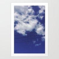High Strung Art Print