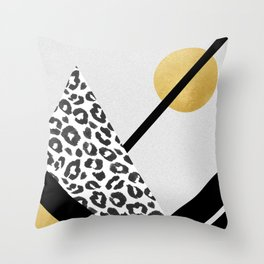 In View Of The Moon Throw Pillow