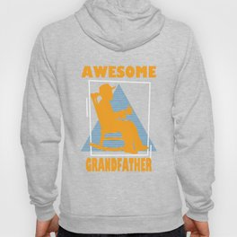 Retro Grandfather Graphic Tee Hoody