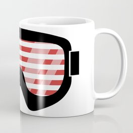 USA Goggles | Goggle Designs | DopeyArt Coffee Mug