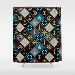 For those who are at sea. Shower Curtain