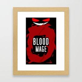 Blood Mage Splash Framed Art Print