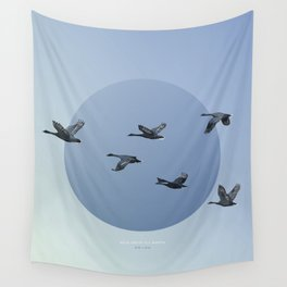 [4.10—4.14] Wild Geese Fly North Wall Tapestry