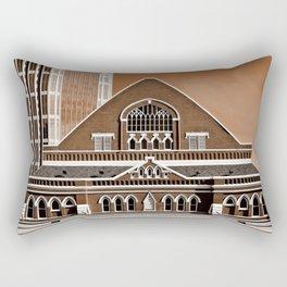 Famous in Nashville Rectangular Pillow