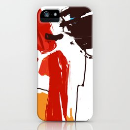 Touch of joy iPhone Case