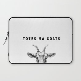 Totes Ma Goats Laptop Sleeve