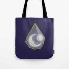 locked in crystal glass Tote Bag