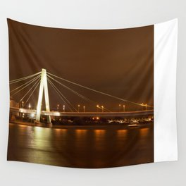 Cologne at Night Wall Tapestry