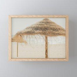 beach dreams Framed Mini Art Print