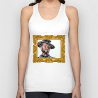 cowboy Tank Tops featuring Cowboy by Cesar Peralta