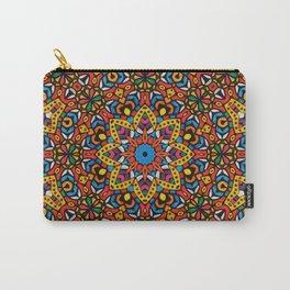 Arabesque kaleidoscopic Mosaic G518 Carry-All Pouch